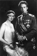 reine Astrid et roi Léopold III