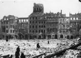 Varsovie bombardée een 1939 par la Luftwaffe
