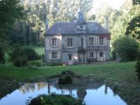 10 facade principale de la maison de castellant