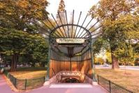 31 bouche de metro parisien