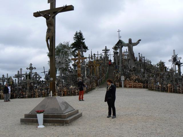 La colline des croix a Slaulaï