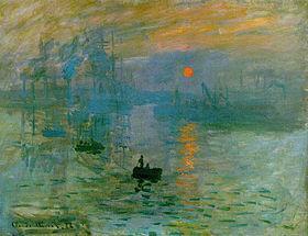 Impression soleil levant 1872