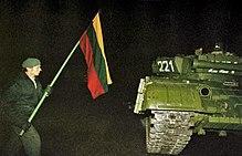 Lituanie janvier91