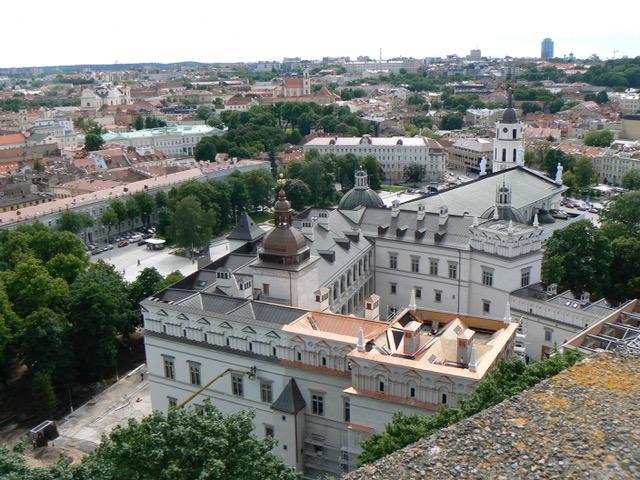 Vilnius la vieille ville et son château