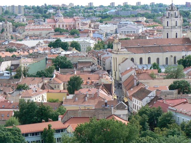 Vilnius la vieille ville et ses églises