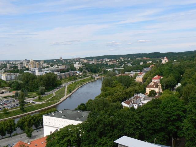 La ville moderne de Vilnius